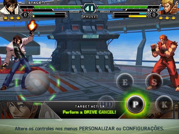 KOF tem jogabilidade e gráficos apurados no celular (Foto: Divulgação) (Foto: KOF tem jogabilidade e gráficos apurados no celular (Foto: Divulgação))