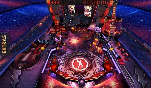 Pinball Rocks HD é um game para quem curte muito Rock n' Roll (Foto: Divulgação)