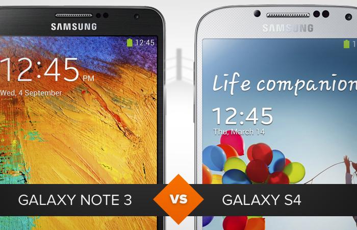Comparativo Galaxy note 3 e galaxy s4 (Foto: Arte/TechTudo)