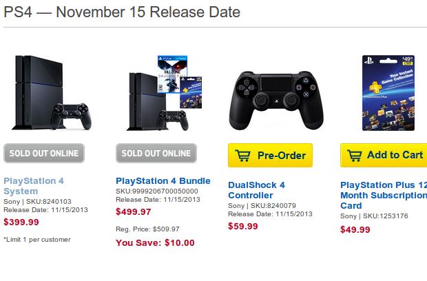4d51feb937a Playstation 4 nas lojas online americanas estão difíceis de ser  encontrados. (Foto  Techtudo