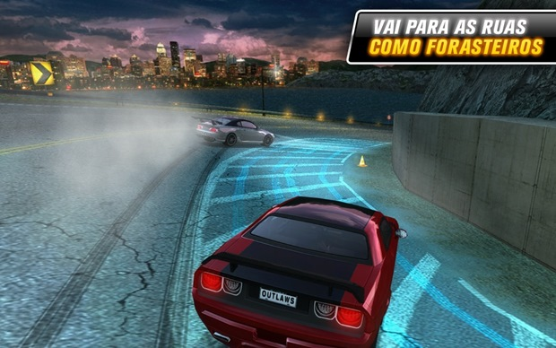 Drift mania: Street Outlaws é game para Android exclusivo sobre drifting (Foto: Divulgação)