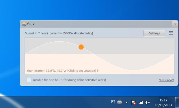 Programa reduz luz da tela do computador e ajuda seu sono  confira ... 8af7e11c28