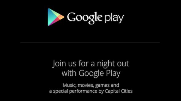 Google Play convite (Foto: Divulgação/Google)