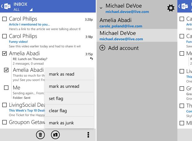 Outlook está melhorando no Android (Foto: Divulgação)