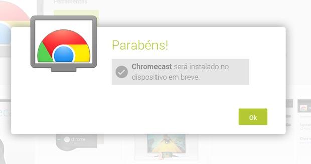 Chromecast está disponível tanto na Play Store como App Store (Foto: Reprodução / Dario Coutinho)