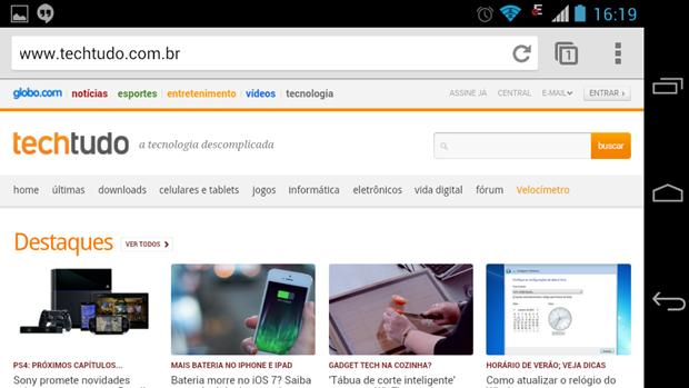 Pequeno truque permite ao Chrome voltar a funcionar após bug (Foto: Reprodução / Dario Coutinho)