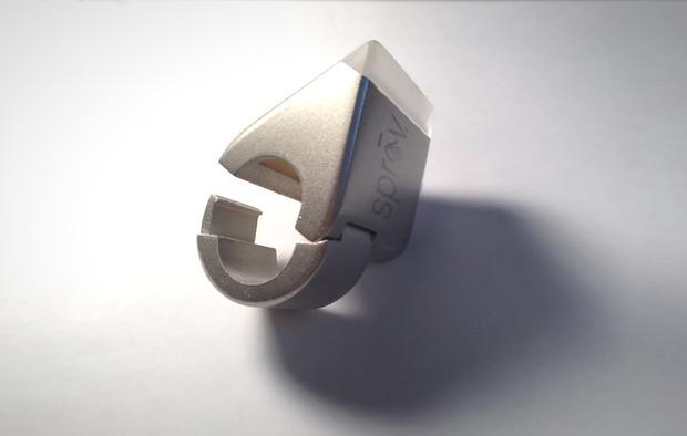87cfb6da14a Medidor quer prevenir o uso excessivo de água em banhos (foto  Reprodução  Kickstarter