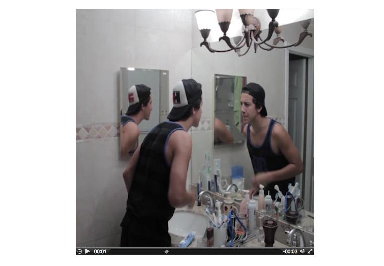 Reflexo; saiba fazer esse efeito no Vine (Foto: Reprodução/Vine)