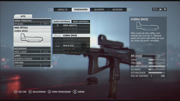 Battlefield 4: Aflați cum puteți personaliza arme și clase în joc. (Foto: Redare / Murilo Molina)