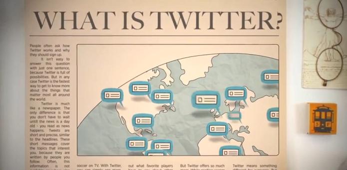 Twitter explica em vídeo, o que é o Twitter (Foto: Reprodução/Edivaldo Brito)