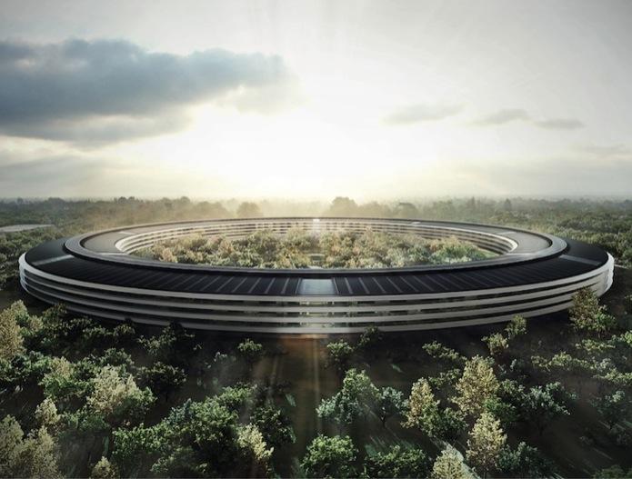 Resultado de imagem para apple edifício nave espacial