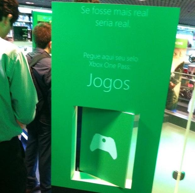 b7cdf2c6e66 Evento de lançamento do Xbox One está sendo realizado na Fnac na Avenida  Paulista (Foto