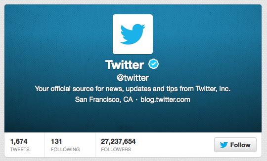 Perfil do Twitter no Microblog e biografia da rede social (Foto: Reprodução/Twitter)