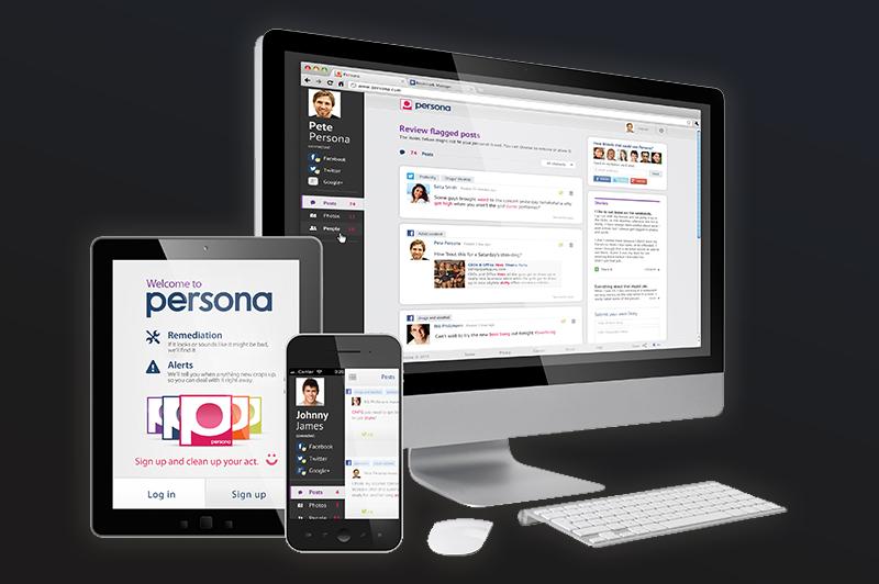 Persona, site analisa perfis de redes sociais para evitar gafes de usuários (Foto: Reprodução/Persona)