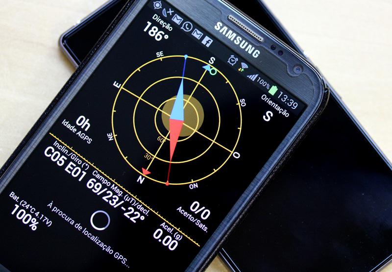 O GPS é um recurso básico que integram os novos smartphones (Foto: Allan Melo / TechTudo)