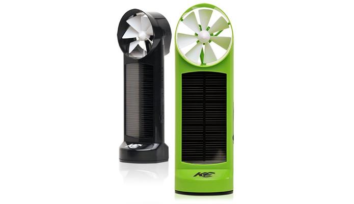 Extremamente útil, o K3 combina muito bem as tecnologias para obter energia através da luz sol e da força dos ventos (Foto: Divilgação/Kinesis Industries)