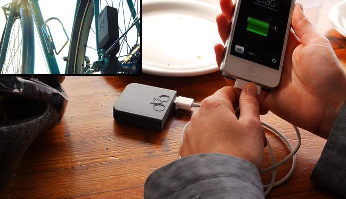 Pedale com o Siva Cycle Atom para recarregar a bateria de seu smartphone (Foto: Divulgação/Siva Cycle)