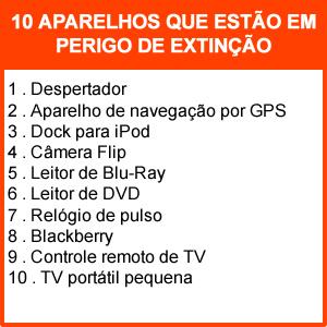 Ranking de aparelhos que estão prestes a desaparecer (Foto: Reprodução/ Daniel Ribeiro)
