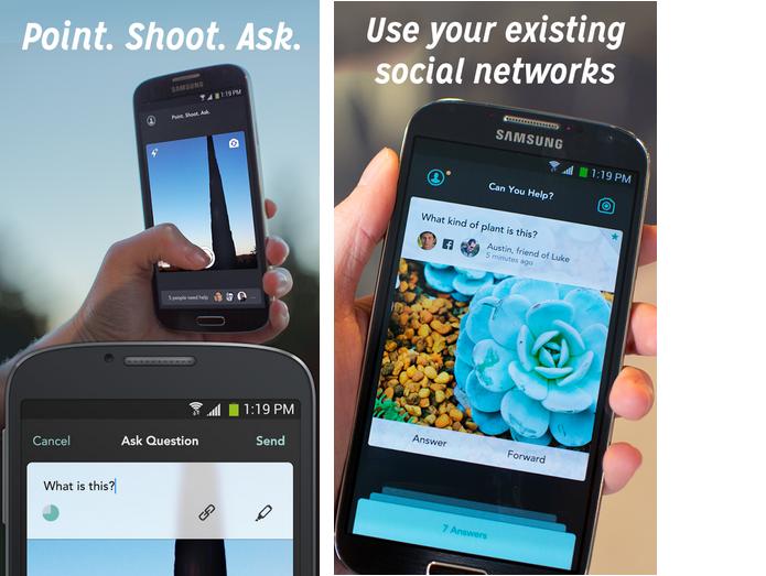 Jelly é um app para tirar dúvidas com seus contatos nas redes sociais (Foto: Divulgação)