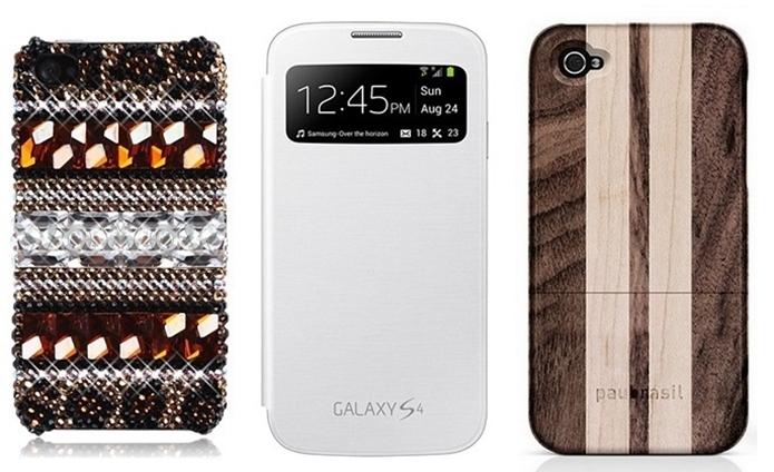 Mercado conta com grande quantidade de modelos de capas de celular (Foto: Reprodução)