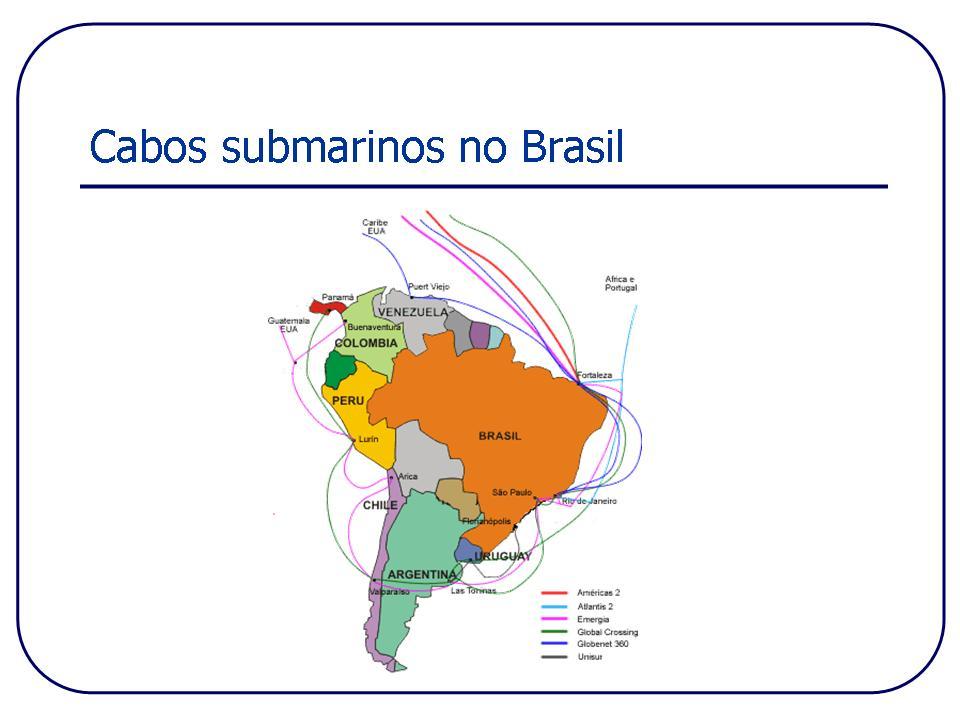 Cabos Submarinos Brasileiro (Foto: TechTudo/Paulo Vasconcellos)