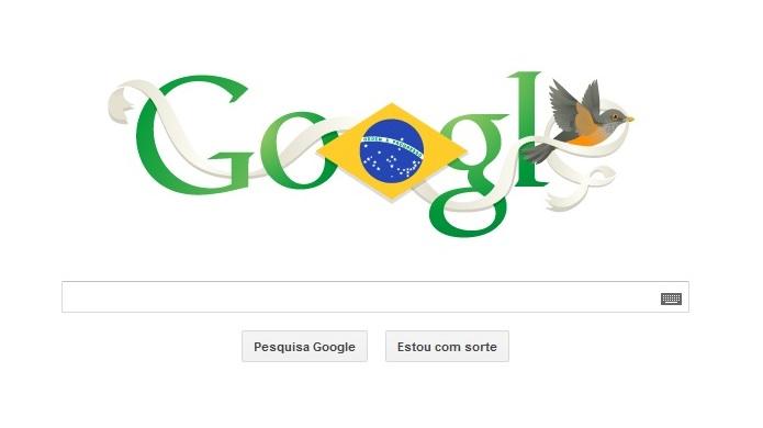 Doodles são marcas famosas do Google (Foto: Reprodução/Google)