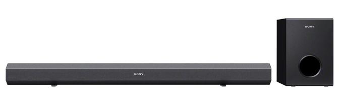O Sony HT-CT260 promete um belo desempenho com um design arrojado