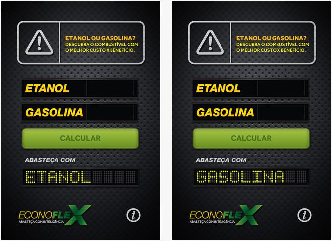 EconoFlex calcula qual combustível está valendo mais a pena (Divulgação)