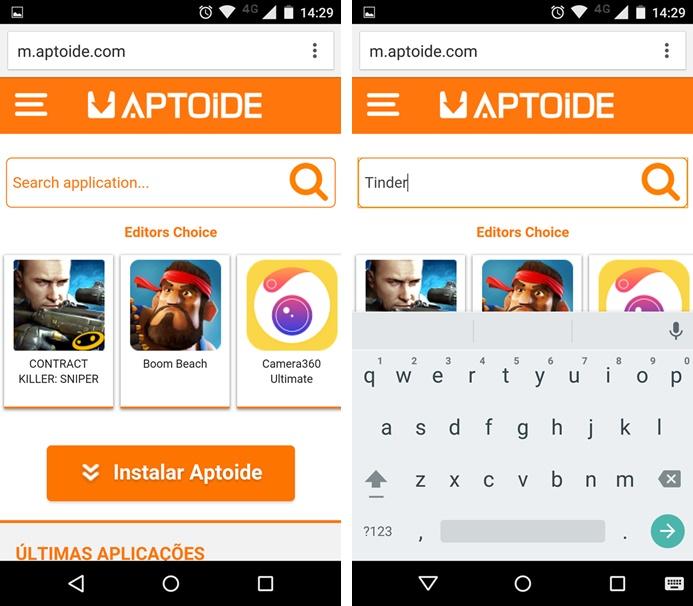 Procure pelo aplicativo que você quer instalar (Foto: Felipe Alencar/TechTudo)