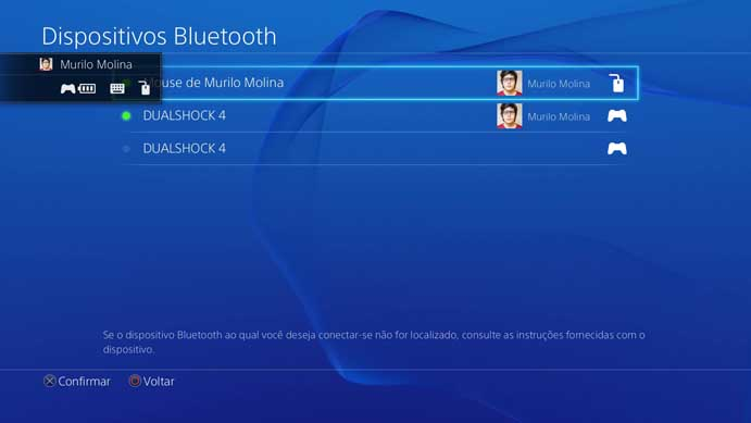 how to add bluetooth mouse to ps4