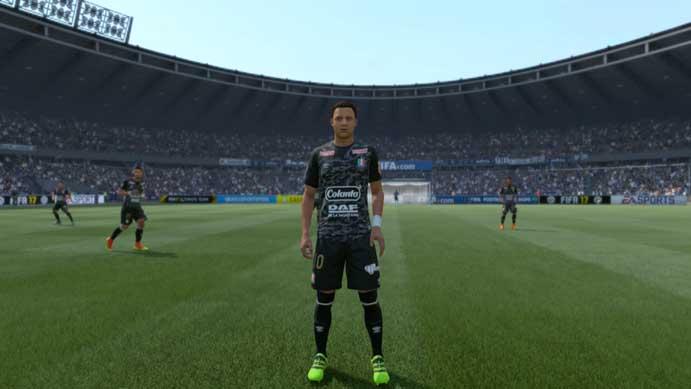 Time colombiano tem camisa repleta de detalhes em Fifa 17 (Foto  Reprodução  Murilo b69a513d91ff5