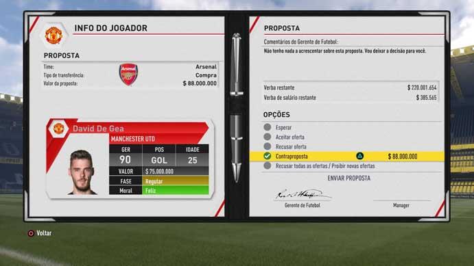 b5aaaa3fc2 Exija propostas melhores em Fifa 17 (Foto  Reprodução Murilo Molina)